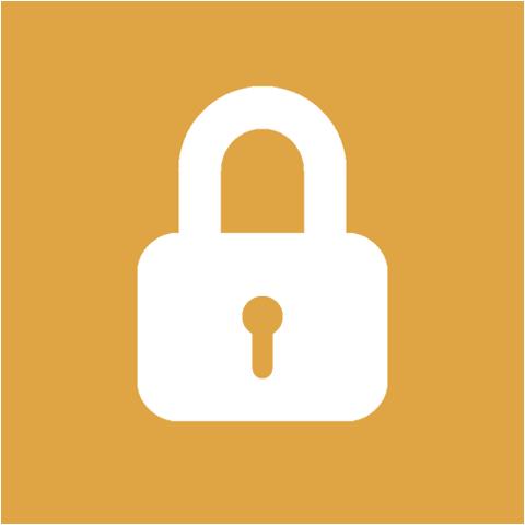 Orange_Background_Lock