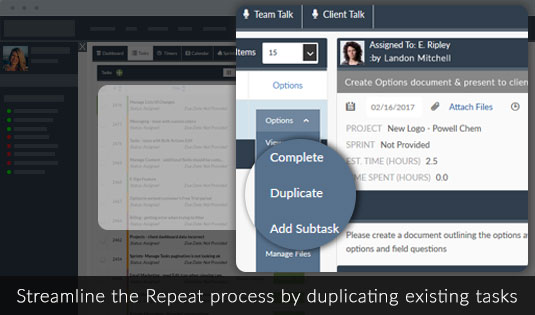 Duplicate Tasks Project Template