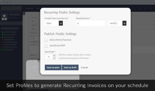 Recurring Invoices Billing Payments