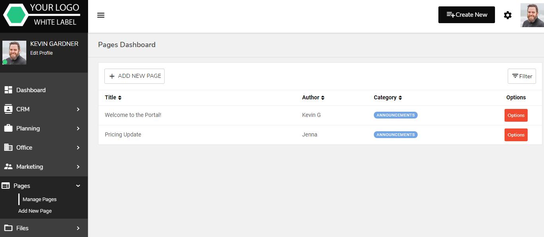 Secure Client Access Portal