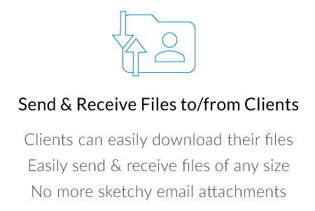 Client File Sharing Exchange Request Portal