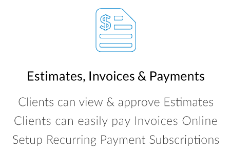 Estimates, Invoicing & Recurring Billing
